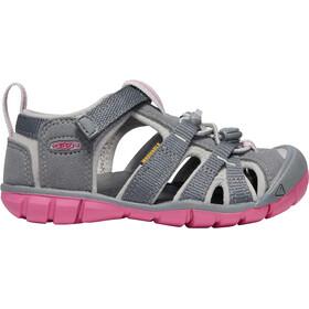 Keen Seacamp II CNX Sandals Children Steel Grey/Rapture Rose